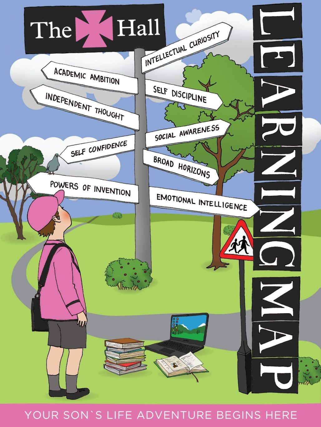 The Hall School Learning Map Cover