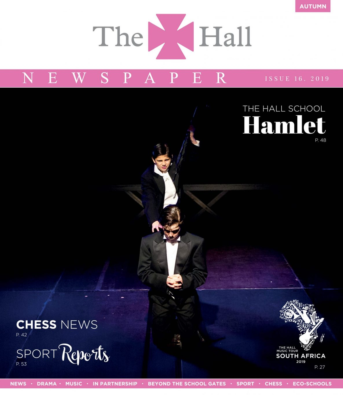 The Hall Newspaper Autumn Term 2019