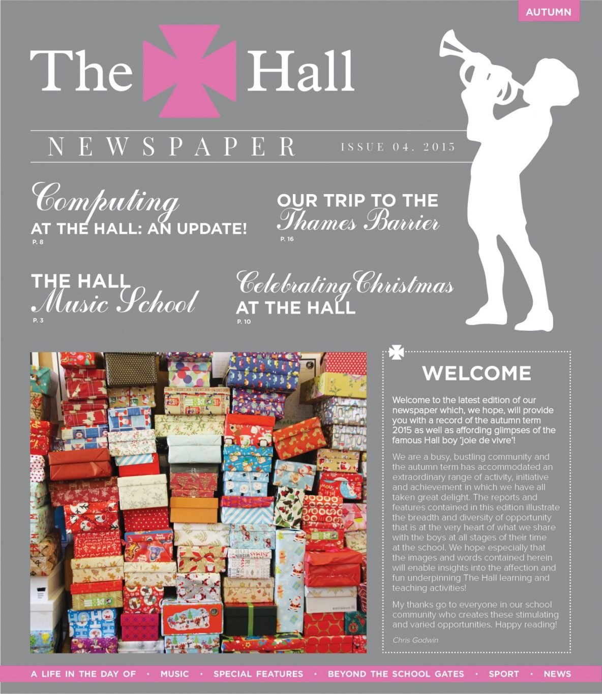 The Hall School Newspaper Autumn Term 2015