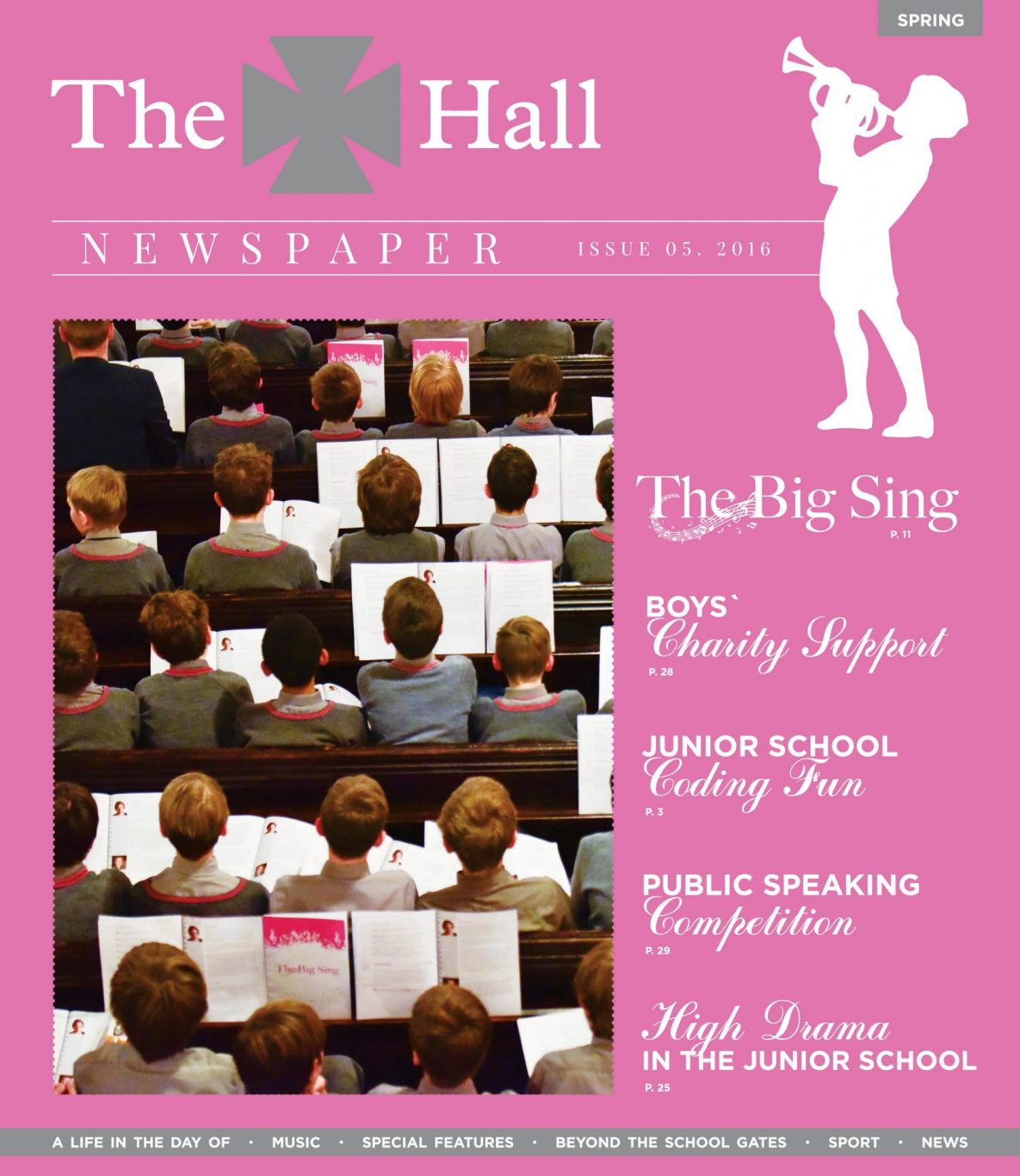 The Hall School Newspaper Spring Term 2016