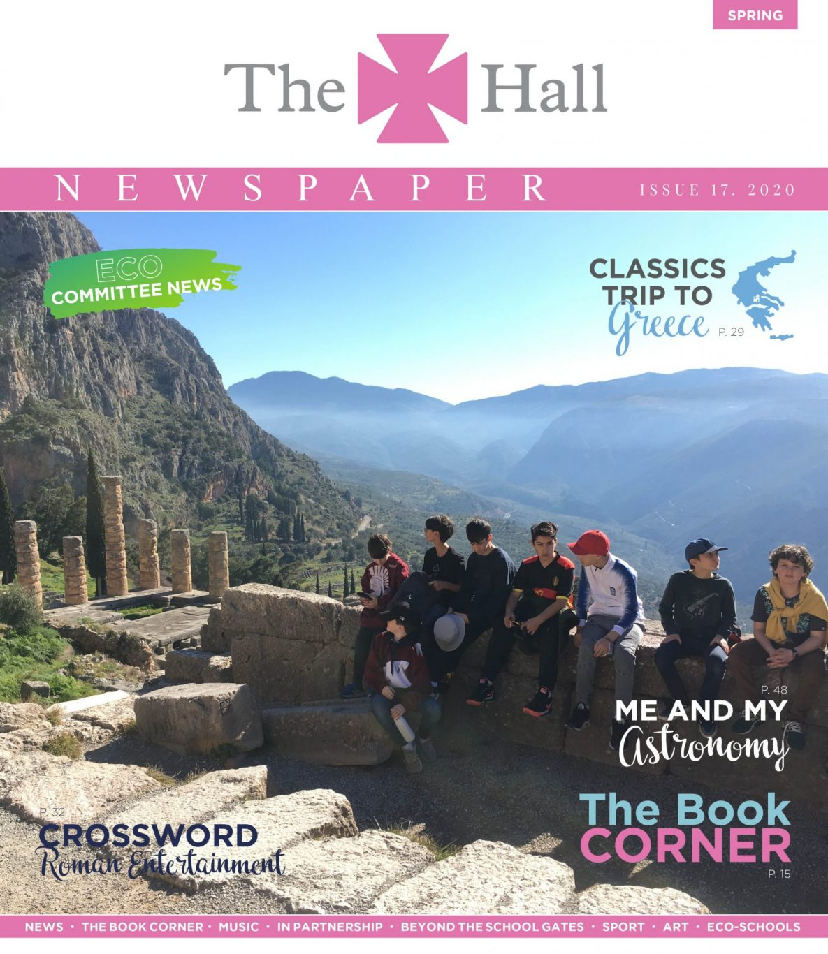 The Hall Newspaper Spring 2020 No 17 Cover