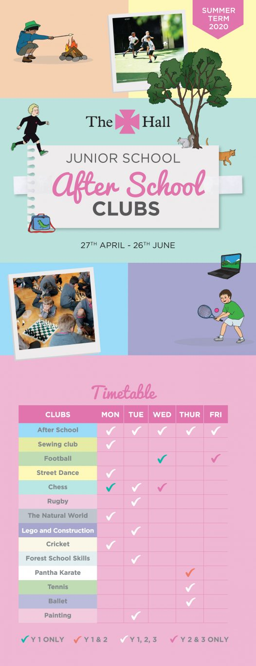 The Hall After School Club Summer 2020