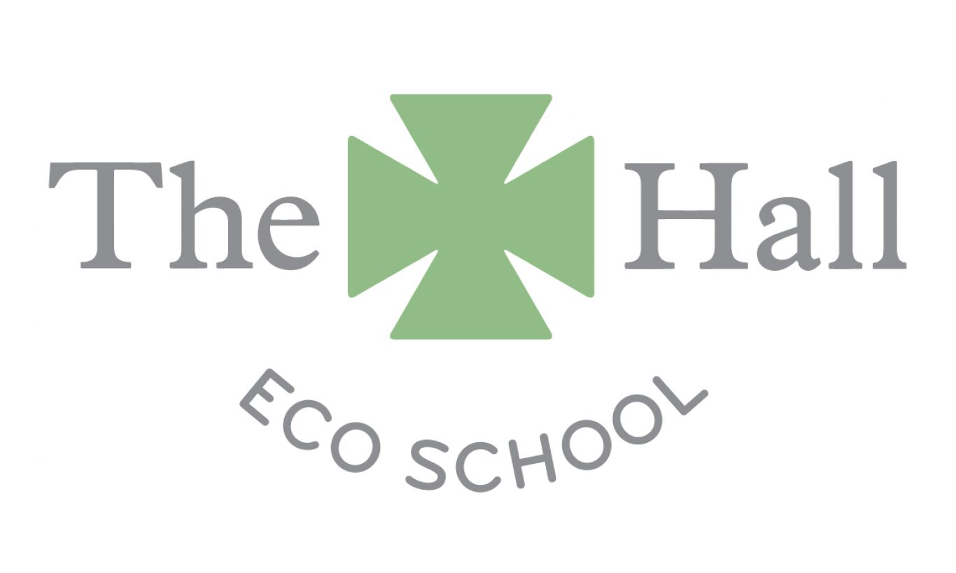 The Hall Eco School Logo
