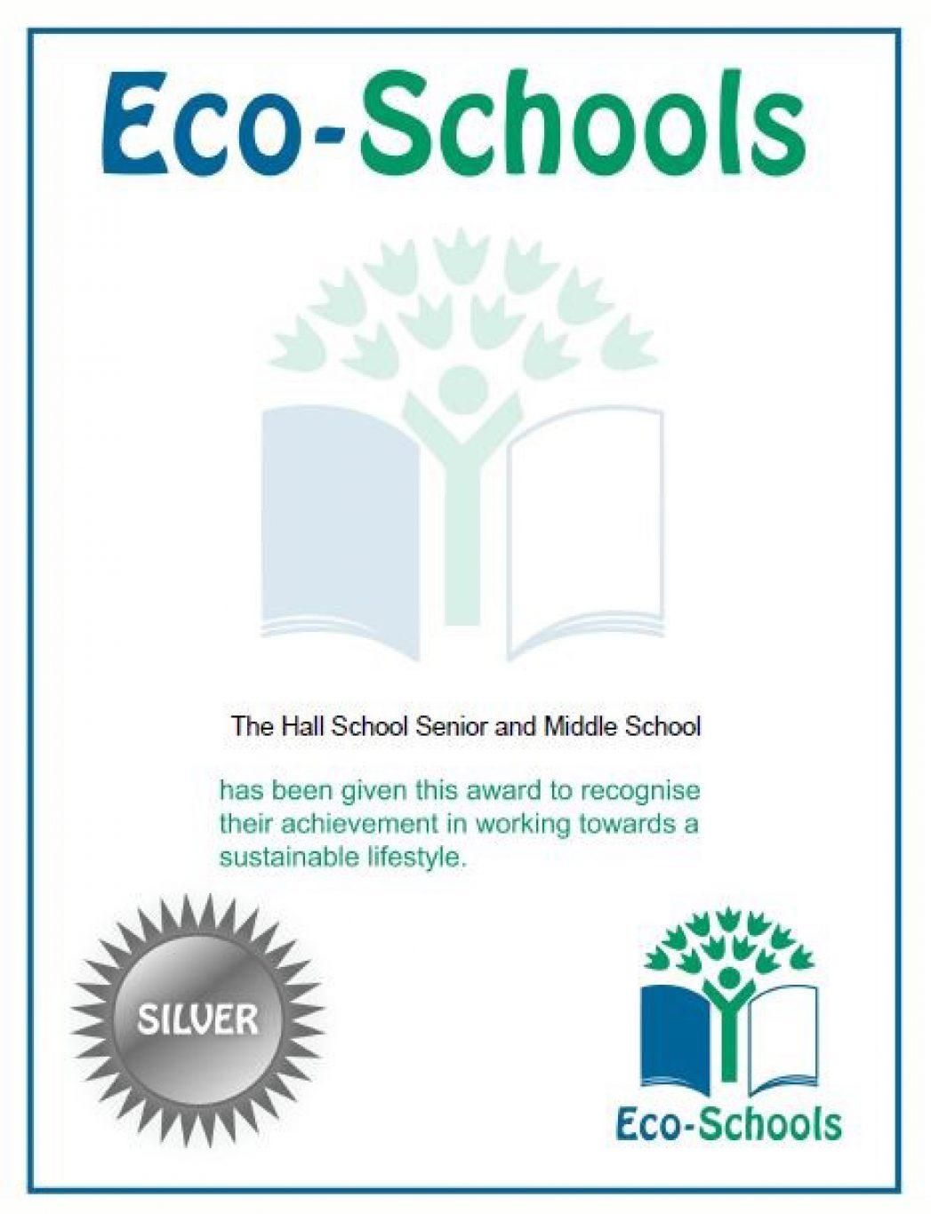 Eco Schools Silver Award Copy