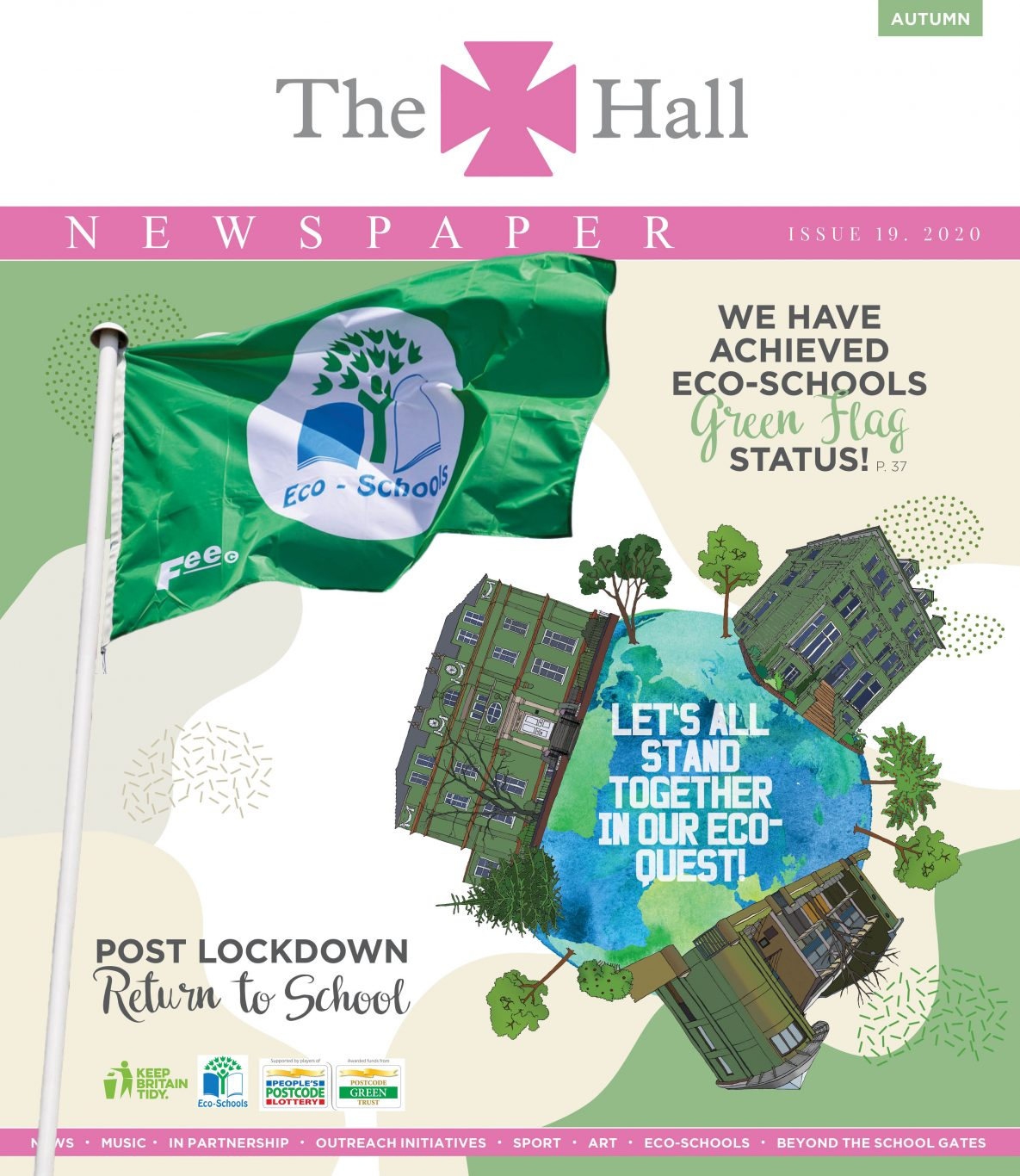 The Hall Newspaper Autumn 2020 Issue No 19